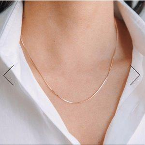 *NWT* SHASHI 'Petite Lady' Gold Necklace